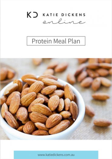 Protein Meal Plan - Cover