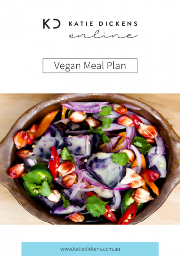 Vegan Meal Plan - COver